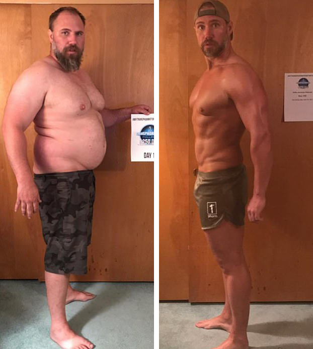 40 kg de perte de poids en 6 mois