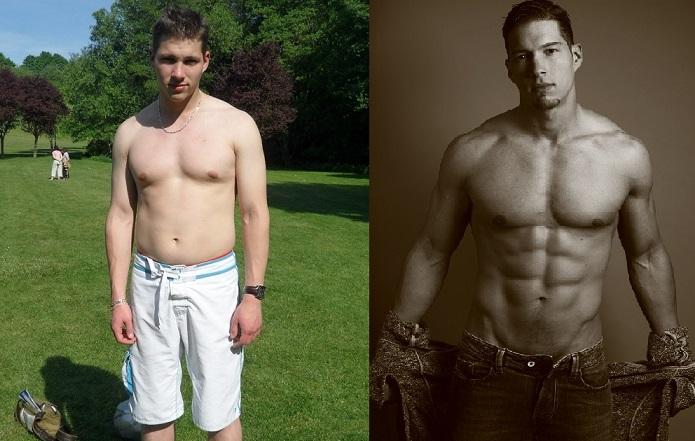2 mois de transformation de perte de poids masculin mincir les mouvements