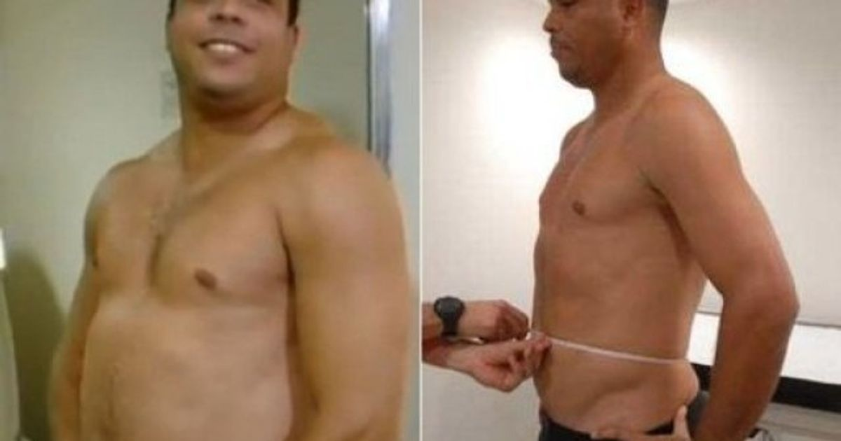 ronaldo perdre du poids