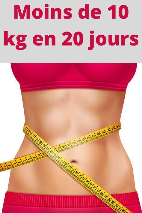 perdre du poids en 20 jours