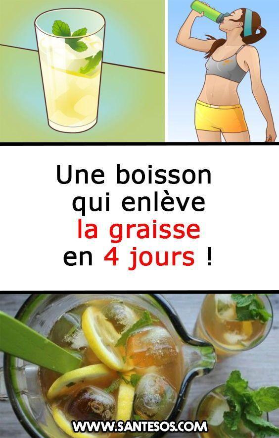 boissons pour vous aider à perdre de la graisse corporelle
