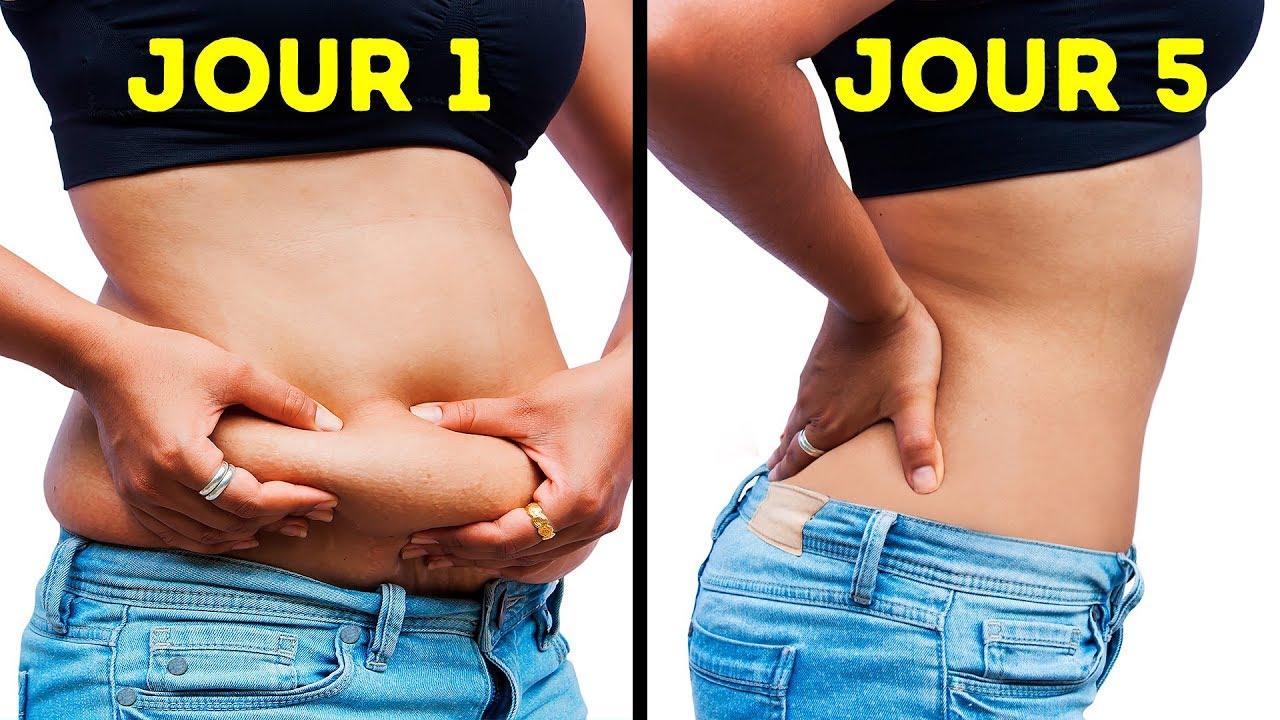 perdre la graisse du ventre en 1 jour rapidement