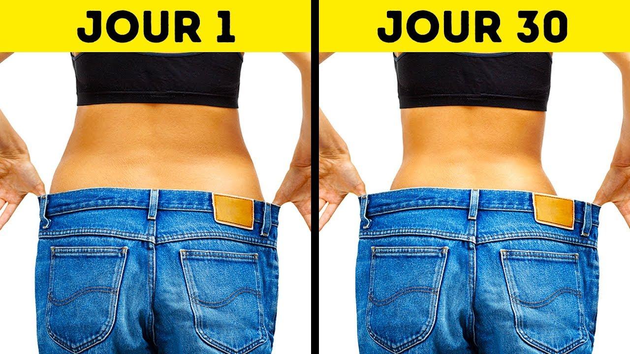 perdre du poids en 3o jours
