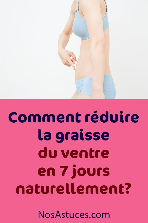 conseils pour perdre du poids graisse du ventre