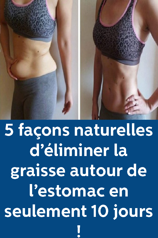 façons de perdre du poids rapidement et naturellement