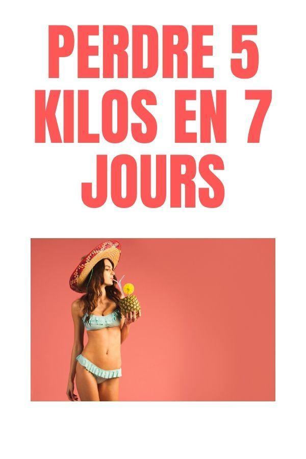 perdre du poids rapidement en 5 mois