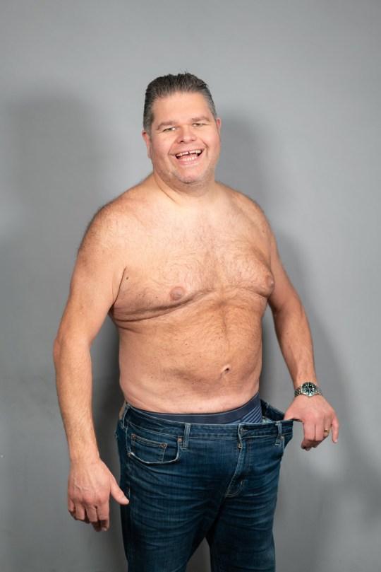 Gogglebox papa perd du poids