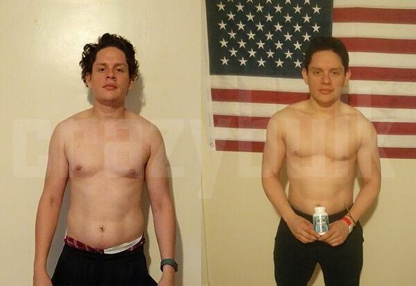 comment a-t-il perdu du poids
