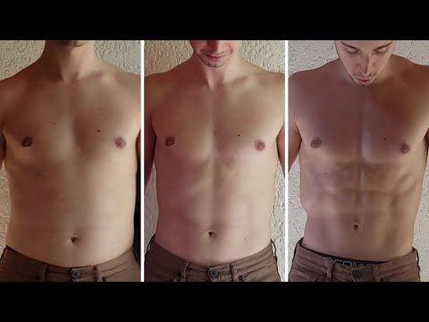 2 mois de transformation de perte de poids masculin