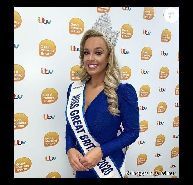 Miss Grand-Bretagne a perdu 50 kilos suite à une douloureuse rupture