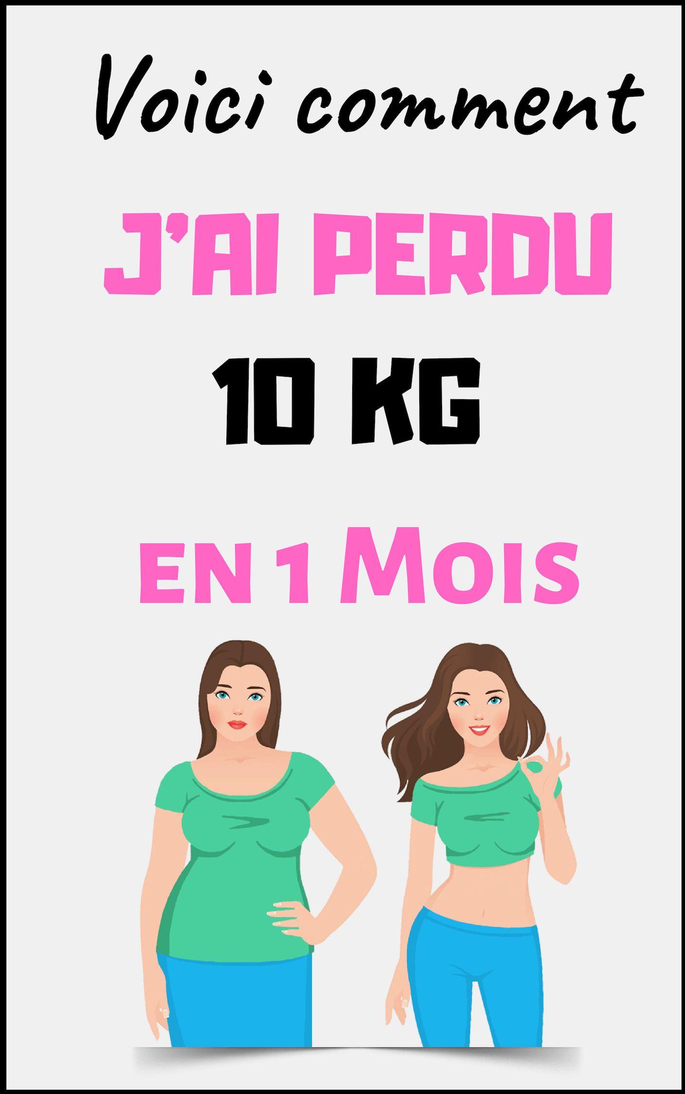 maigrir 10kg 1 mois