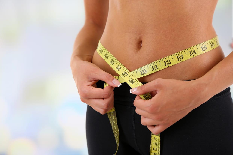 perte de poids et pourcentage de graisse corporelle