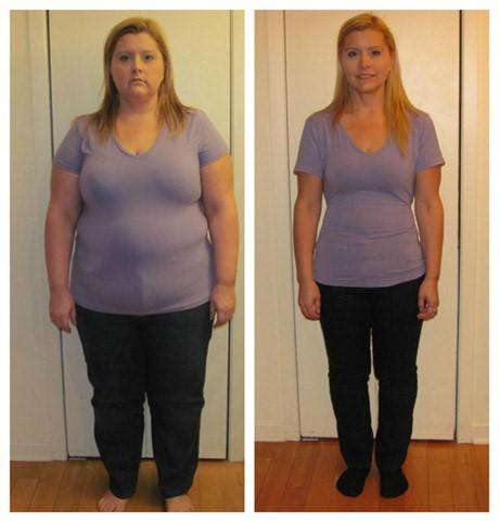 1 mois de différence de perte de poids
