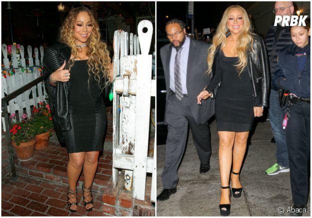 Découvrez la nouvelle silhouette de Mariah Carey après sa - Closer