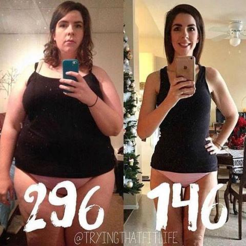 pointure avant et après la perte de poids