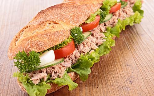 Un régime avec un sandwich le midi ??