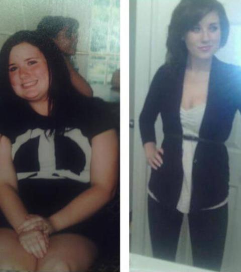 superbes photos avant et après la perte de poids