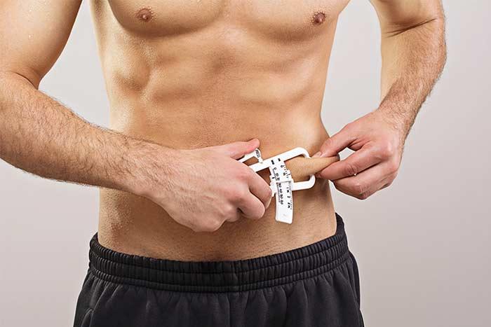 taux de perte de graisse corporelle