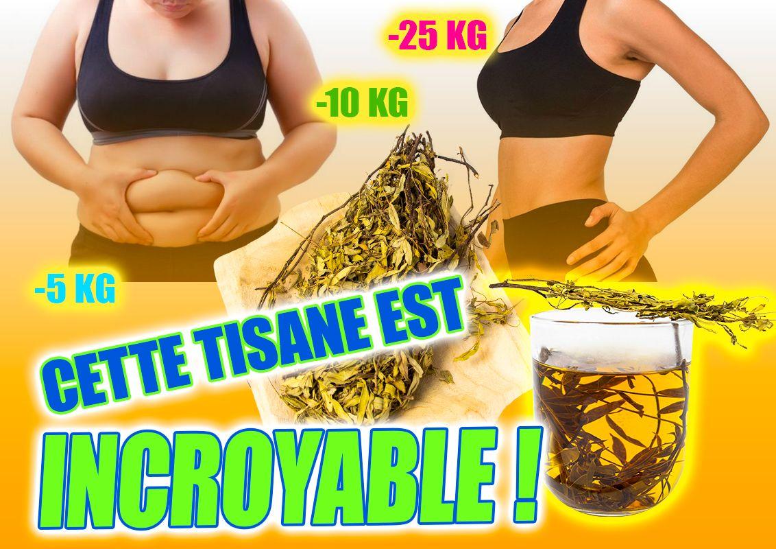 tisane qui vous aide à perdre du poids