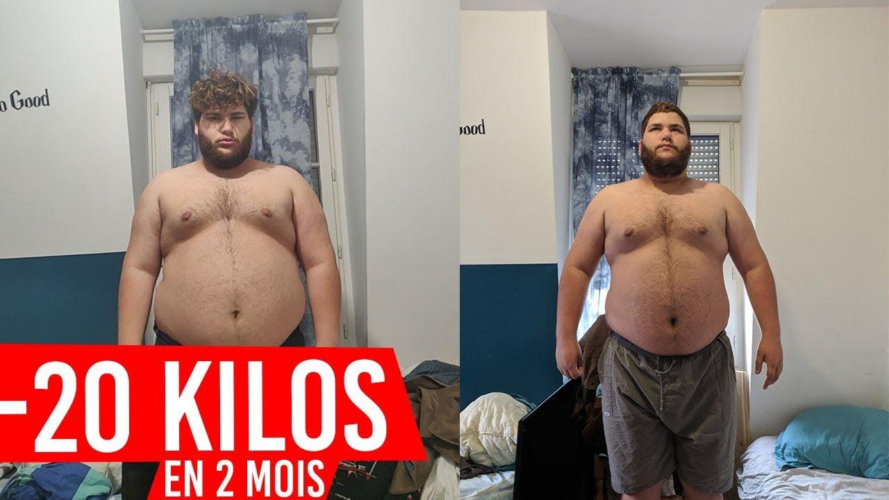 2 mois de transformation de perte de poids masculin devrais-je manger de lavoine pour perdre du poids