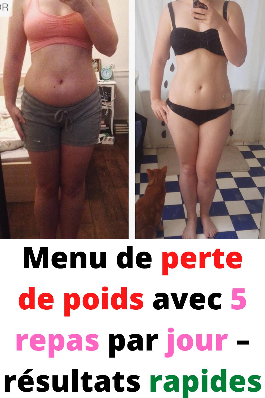 repas de perte de poids par jour pourcentage de graisse corporelle pour perdre des moobs
