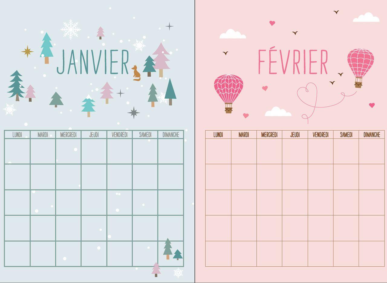 calendrier de perte de poids de janvier