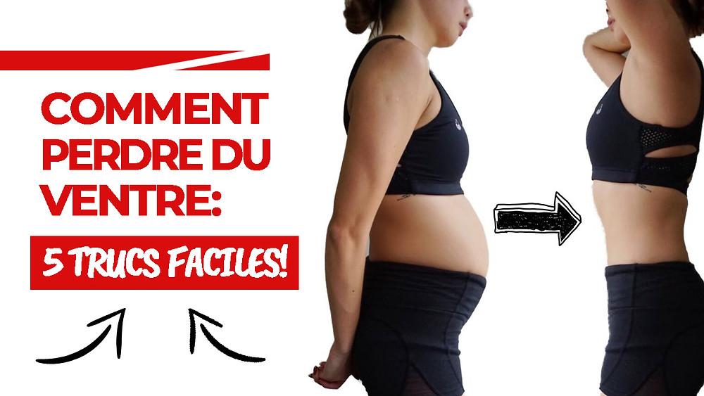 prendre du ventre sans prendre de poids