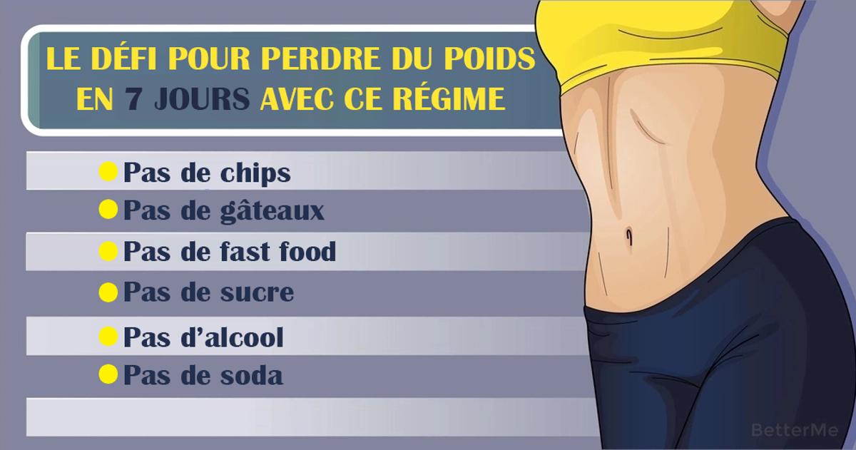 détails du défi de perte de poids dessin perte de poids