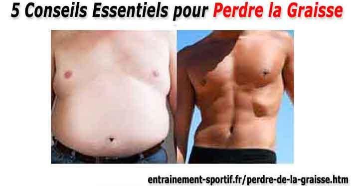pourcentage de graisse corporelle perdu